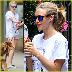 Amanda Seyfried Steps Out After Cutting Her Hair Short