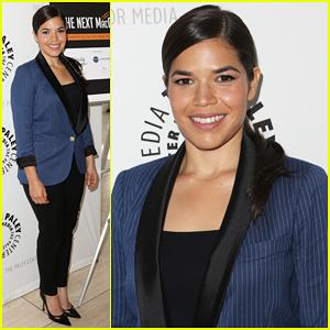America Ferrera Reunites with 'Ugly Betty' at 'The Next MacGyver'!