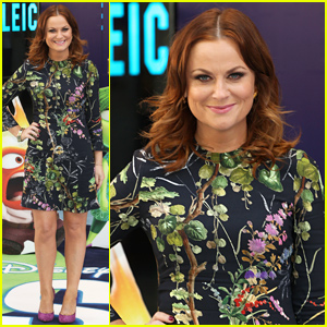 Amy Poehler Premieres 'Inside Out' in London!