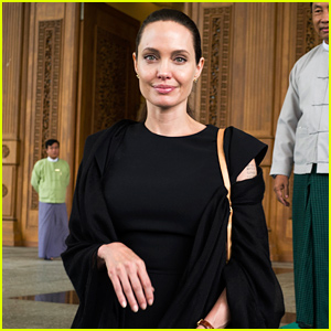 Angelina Jolie Photographed on First Day of Myanmar Visit