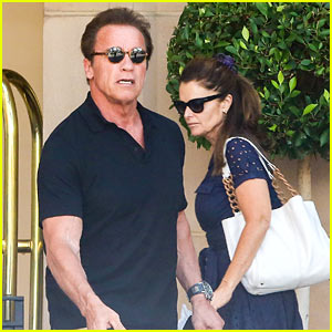 Arnold Schwarzenegger Celebrates 68th Birthday with Ex Maria Shriver