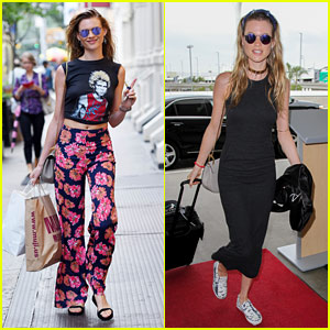 Behati Prinsloo Gets Physical with Husband Adam Levine