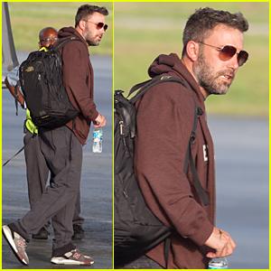 Ben Affleck Flies to Atlanta to Spend Time With Kids Following Jennifer Garner Split