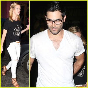 Brittany Snow Grabs Tacos With Boyfriend Tyler Hoechlin