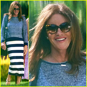 Caitlyn Jenner Can't Help But Smile for Fun Day with Friends!