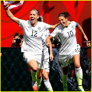 Celebrities React to USA Women's Soccer World Cup Win!