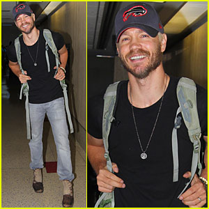Chad Michael Murray Heads to Houston for Comic Con