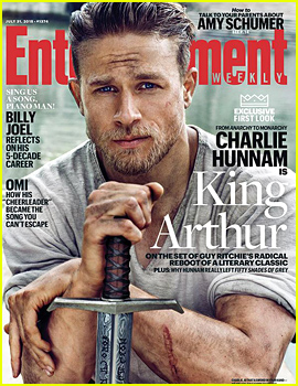 Charlie Hunnam as King Arthur: First Look Photo!