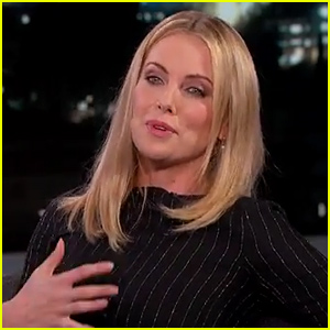 Charlize Theron Invited President Obama to a Strip Club (Video)
