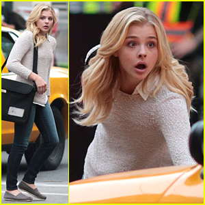 Chloe Moretz Nearly Gets Hit By Cab On 'Brain on Fire' Set
