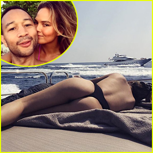 Chrissy Teigen Shares Another Butt-Baring Snap on Social Media!
