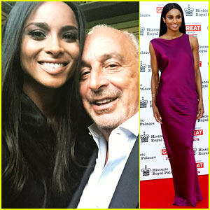 Ciara Is the New Face of Topshop, Russell Wilson Celebrates!