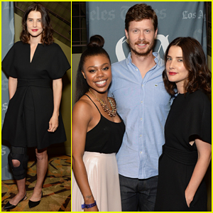 Cobie Smulders Steps Out with Broken Leg for 'Unexpected' Screening!