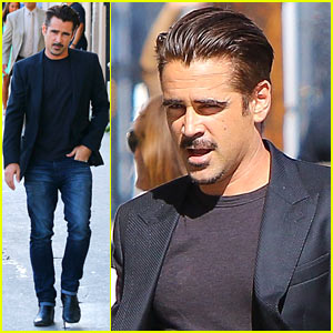 Colin Farrell Gets Sniffed by a Fan on 'Jimmy Kimmel Live'