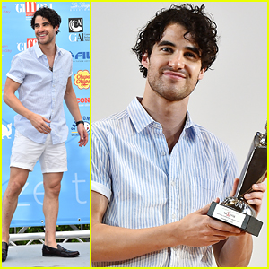 Darren Criss Picks Up Experience Award At Giffoni Film Festival In Italy