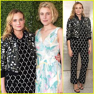 Diane Kruger Helps Benefit Women In Film with Greta Gerwig!