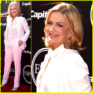 Diane Sawyer Attends ESPYs 2015 to Support Caitlyn Jenner