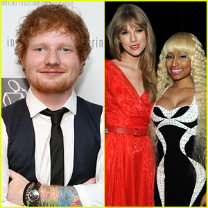 Ed Sheeran Clarifies His Taylor Swift/Nicki Minaj Comments: 'I Definitely Said It Wrong'