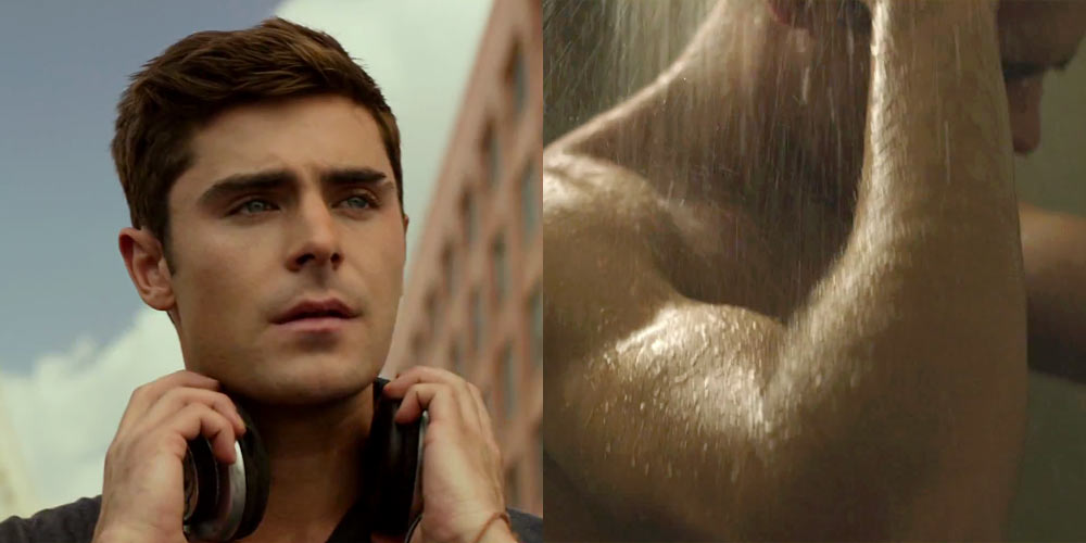 Zac Efron Naked In The Shower 14