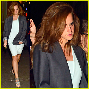 Emma Watson Steps Out After Winning Campaigner of the Year at Ethical Awards 2015!