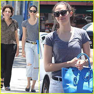 Emmy Rossum Takes Flight With Her New Drone