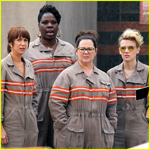 The Female 'Ghostbusters' Are Seen in Uniform for First Time!