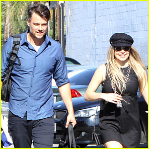 Fergie & Josh Duhamel Get In a Weekend Outing Together
