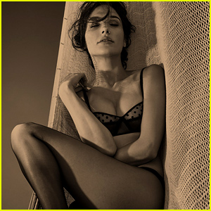 Gal Gadot Strips Down to Her Bra & Underwear for 'Interview' Mag