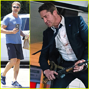 Gerard Butler Kicks Major Butt in 'London Has Fallen' Still