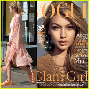 Gigi Hadid Covers the July Issue of 'Vogue Brazil'