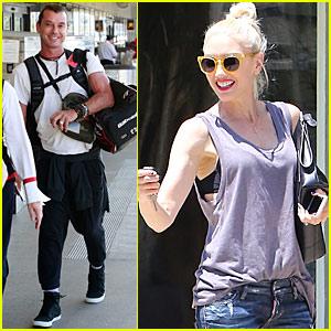 Gwen Stefani & Gavin Rossdale Enjoy a Family Trip to Montana