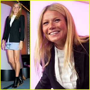 Gwyneth Paltrow Brought Her Kids & Ex Chris Martin to the Goop Dinner