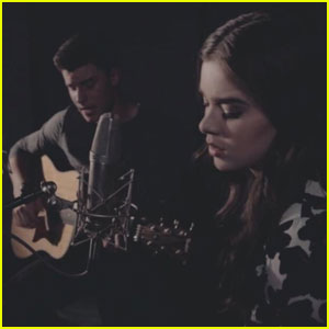 Hailee Steinfeld Teams Up With Shawn Mendes for 'Stitches' Acoustic Cover - Watch Now!
