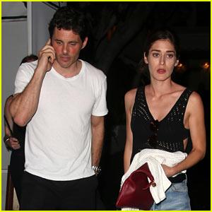 James Marsden & Lizzy Caplan Enjoy a Friendly Night Out