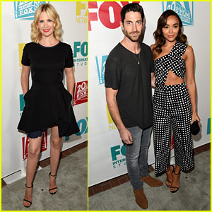 January Jones & Ashley Madekwe Bring Chic Style to Fox's Comic-Con Party!