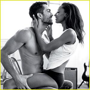Jasmine Tookes Straddles Boyfriend Tobias Sorensen in New Calvin Klein Ad!