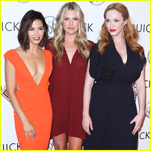 Jenna Dewan, Ali Larter & Christina Hendricks Team Up at Buick Test Drive Launch!