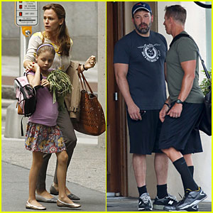 Ben Affleck Remains in Georgia as Jennifer Garner Continues Filming 'Miracles from Heaven'
