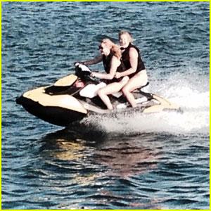 Jennifer Lawrence & Amy Schumer Go Jet-Skiing Together!