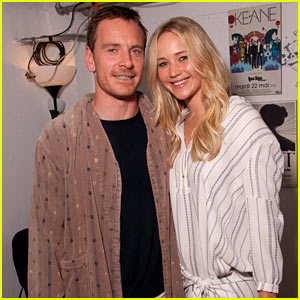 Jennifer Lawrence & Michael Fassbender Trade In 'X-Men' for 'Big Lebowski'