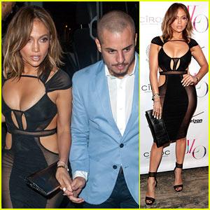 Jennifer Lopez's Birthday Dress is Super Sexy & Sheer!