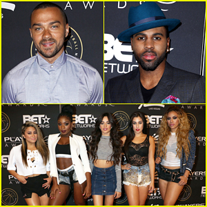 Jesse Williams, Jason Derulo & Fifth Harmony Live It Up at The Players' Awards 2015!