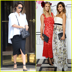 Jessica Alba Serves Summer Glam at Floral Obsession Ball 2015!