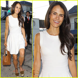 Jordana Brewster Has A Beach Day With Her Babe