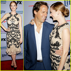 Judy Greer & Nat Faxon Bring 'Married' To NYC Ahead of Season Two Premiere!