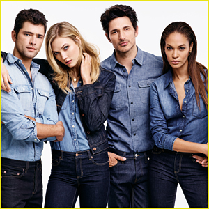 Karlie Kloss, Joan Smalls, & Sean O'Pry Are Wrapped in Denim for Joe Fresh!