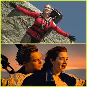 Kate Winslet Recreates Famous 'Titanic' Scene: 'I'm Flying'! (Video)