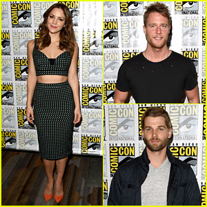 Katharine McPhee & Jake McDorman Rep CBS Shows at Comic-Con 2015!