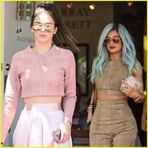 Kendall & Kylie Jenner Get in Sisterly Bonding Time!