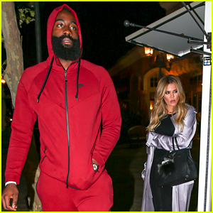 Khloe Kardashian & James Harden Have a Dinner Date in Calabasas!